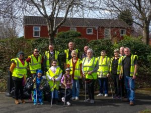 "Longbarn's ""The Great British Spring Clean"" Team"